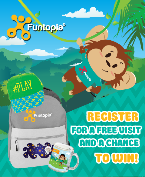 Register and Win at Funtopia sports facility