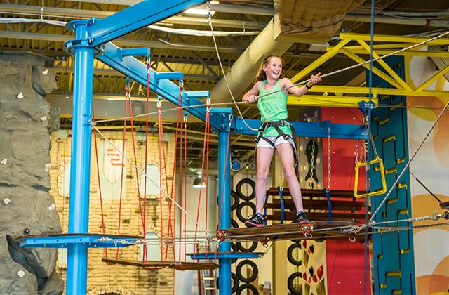 Funtopia Family Entertainment Naperville Indoor Sports Kids