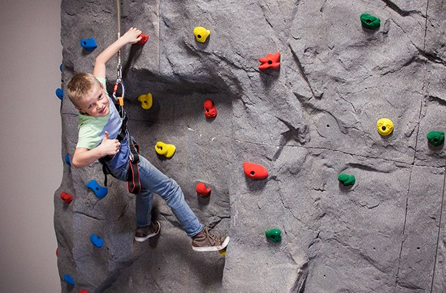 Image result for climbing wall  burr ridge